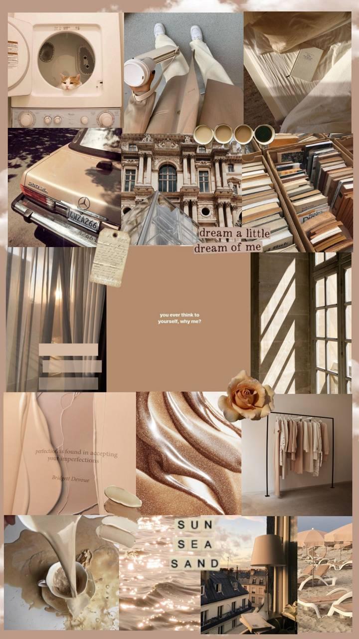 Beige Aesthetic Wallpaper Enjpg