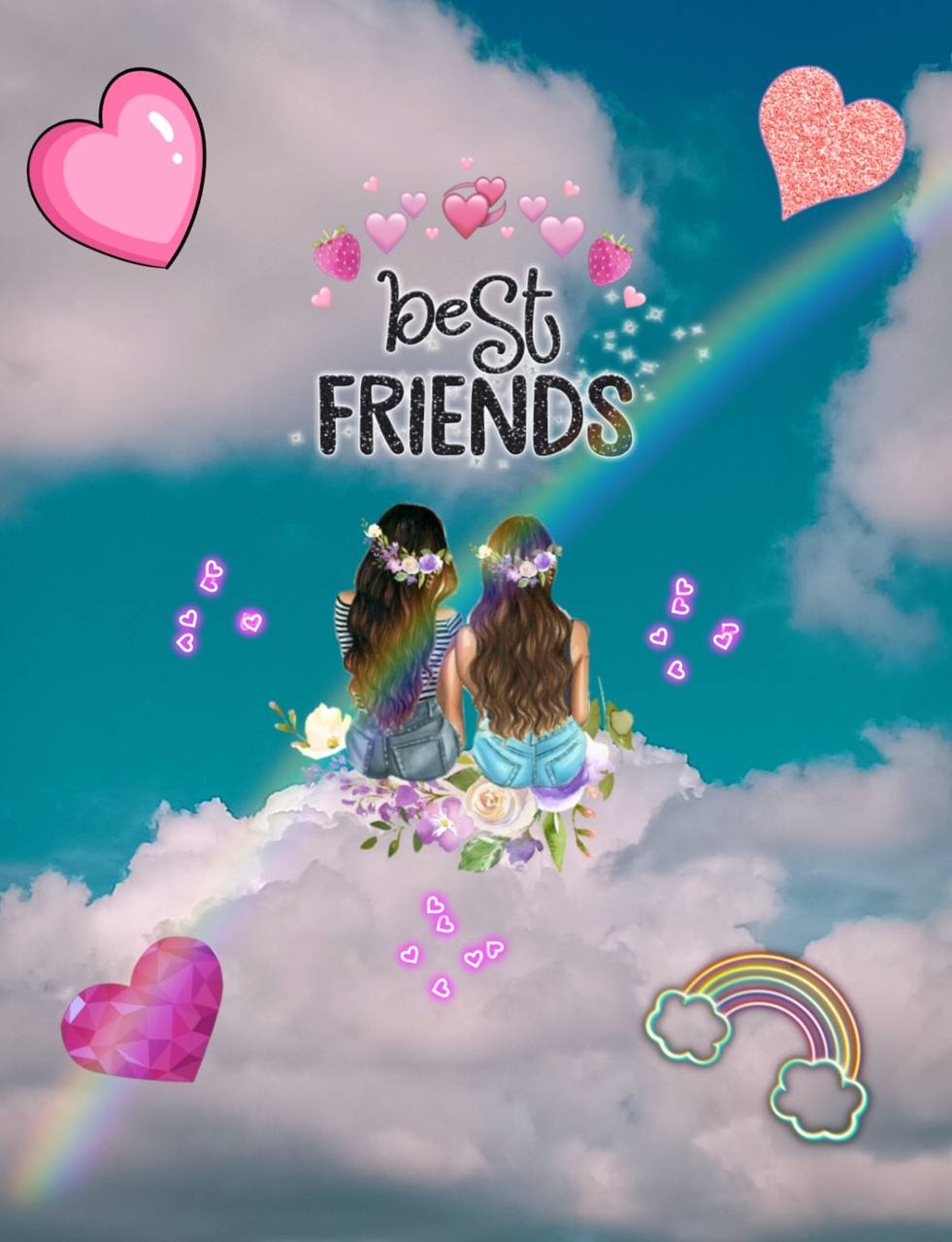Best Friends Forever Papel De Parede