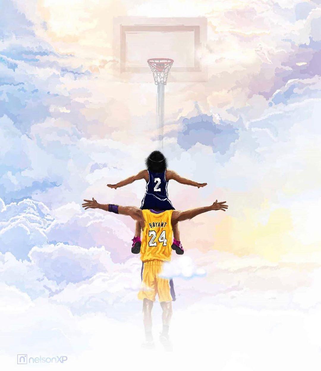 Kobe And Gigi Wallpaper Enjpg