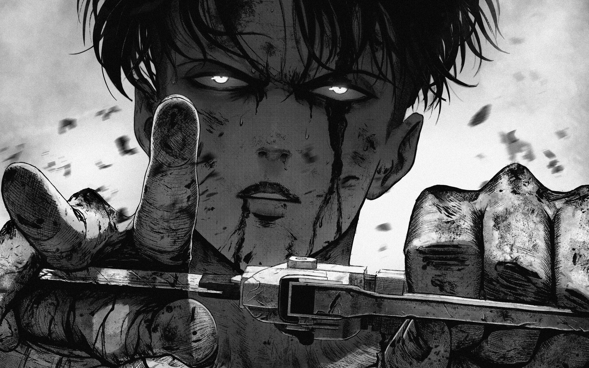 Levi Ackerman Wallpaper Enjpg