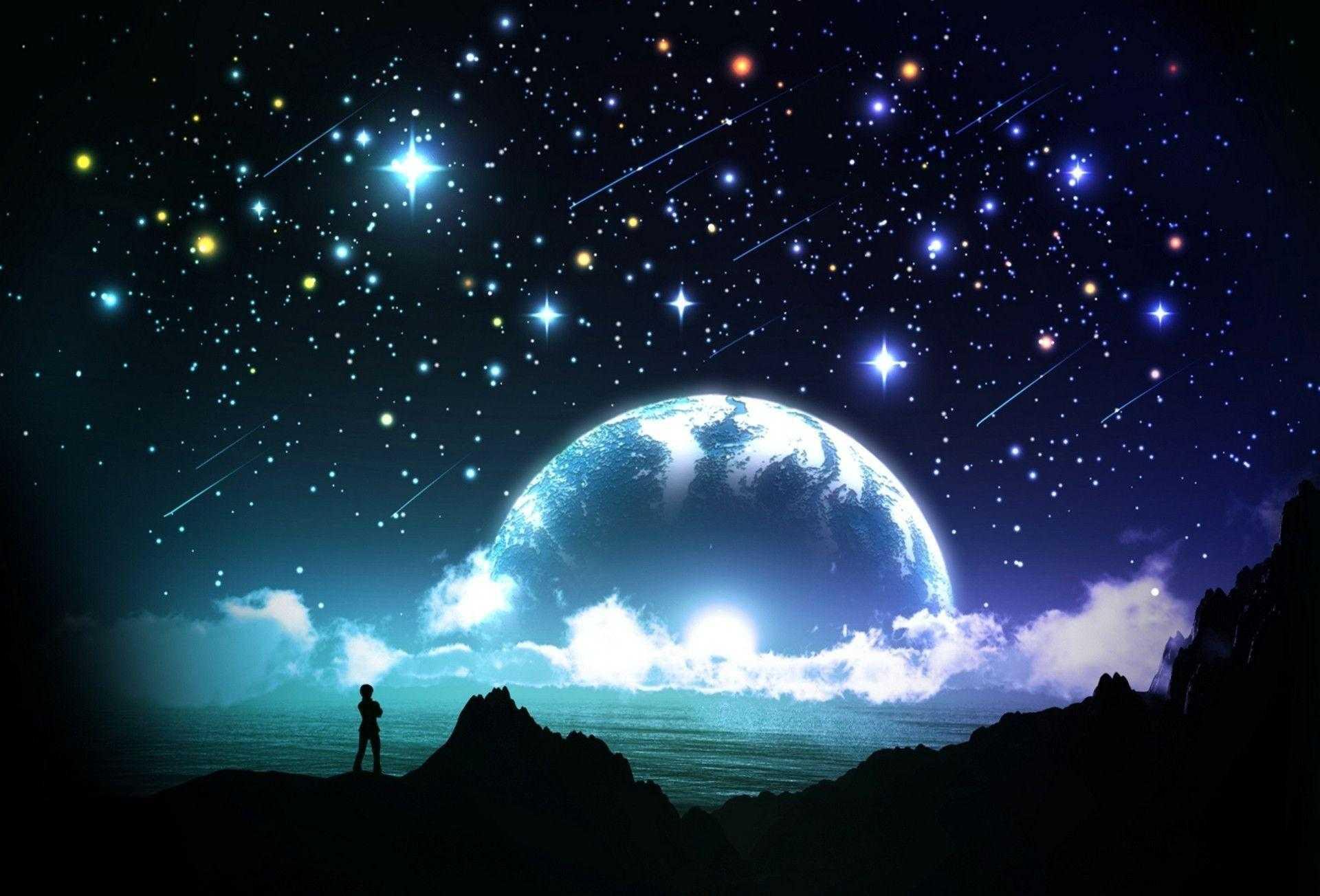 Night Sky Wallpaper Enjpg