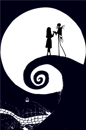 Nightmare Before Christmas Hintergrundbild