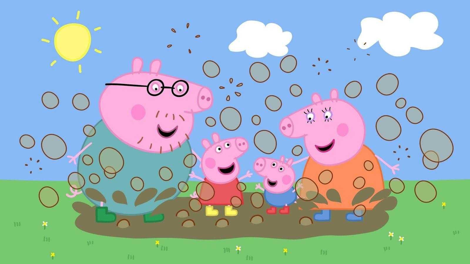 Peppa Pig House Fond D'écran - EnJpg