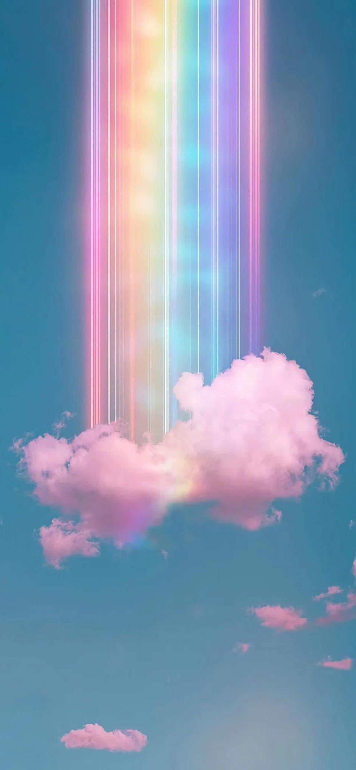 Rainbow Aesthetic Wallpaper   EnJpg