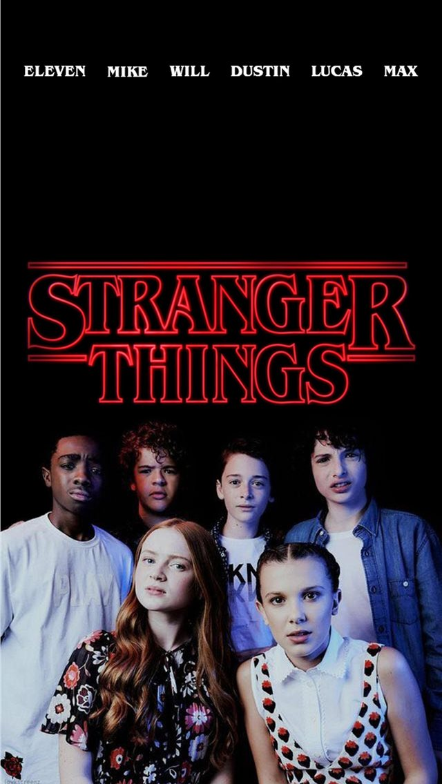 Stranger Things Cute Papel De Parede