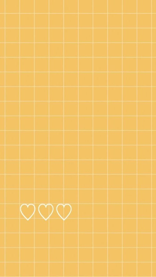Yellow Aesthetic Background Wallpaper